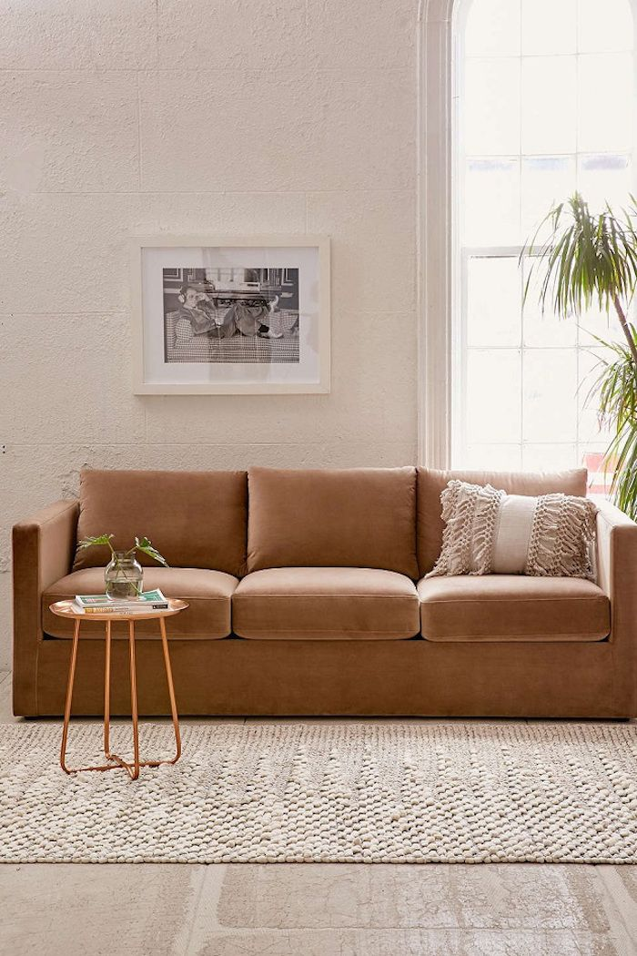 12 Marvelous Ways To Use Velvet In Your Home Velvet Sofa Living Room Velvet Couch Living Room Velvet Sofa