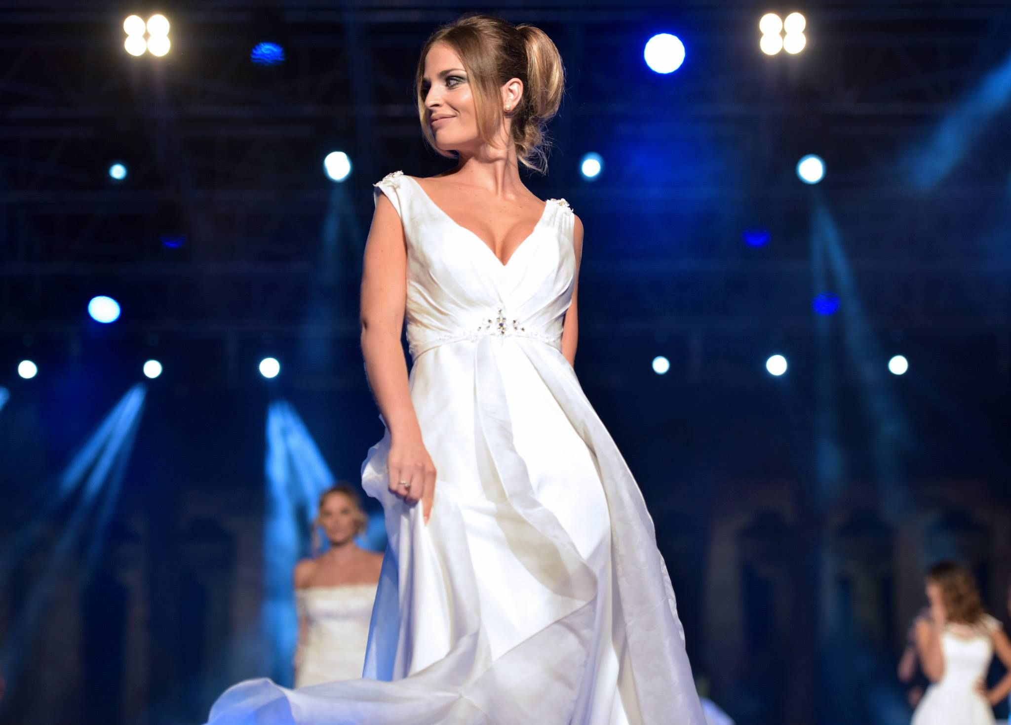 Per la sposa 2016 un abito da sposa in seta jacquard  #SeduceMe by #Amatelier