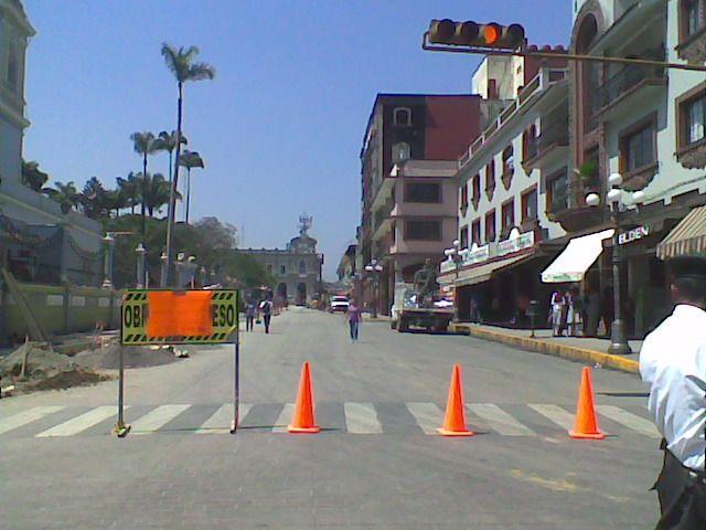 Centro Histórico cerrado a la circulación vehicular
