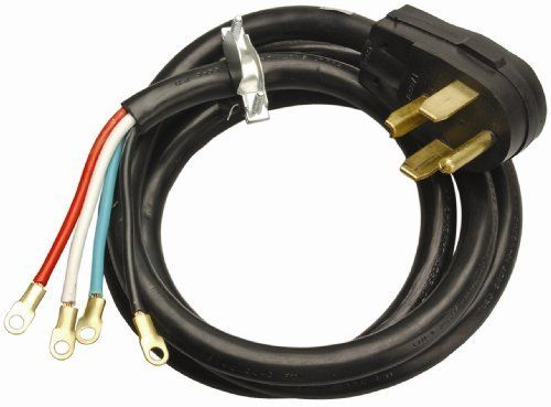 Coleman Cable 09154 4-Feet 30-Amp 4-Wire Dryer Power Cord by Coleman ...