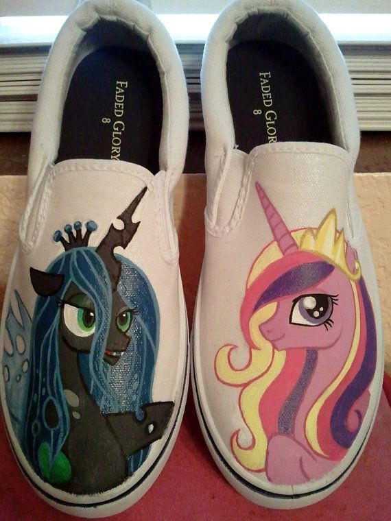 best cheap 9f983 3c2ac my little pony shoes custom RESERVED by offthetop on Etsy ...