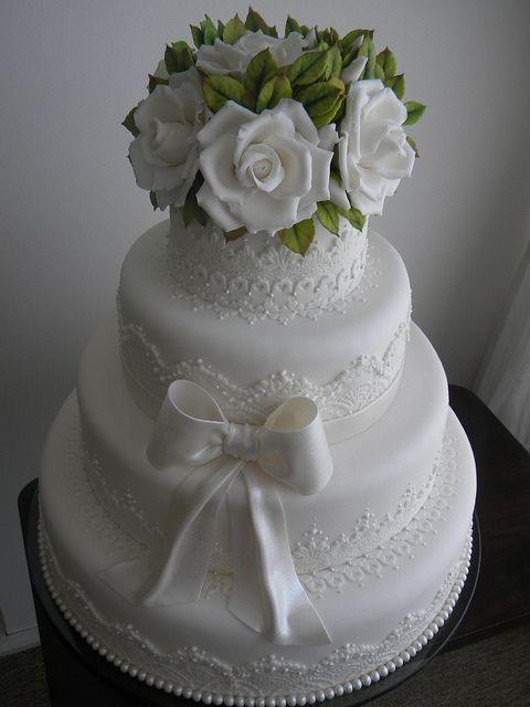 Bolo de Casamento da Liane e Jorge   Flickr – Compartilhamento de fotos!