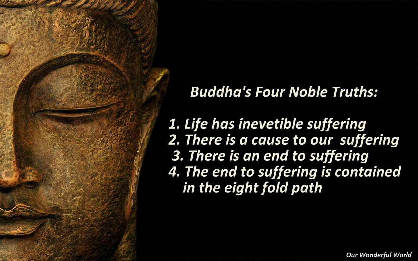 the four noble truths | teachings of the buddha | buddhism, buddha