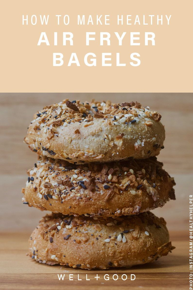 How to make healthier vegan everything bagels in—wait for