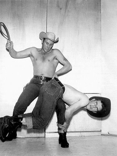 Spanking daddy cowboys hot naked men