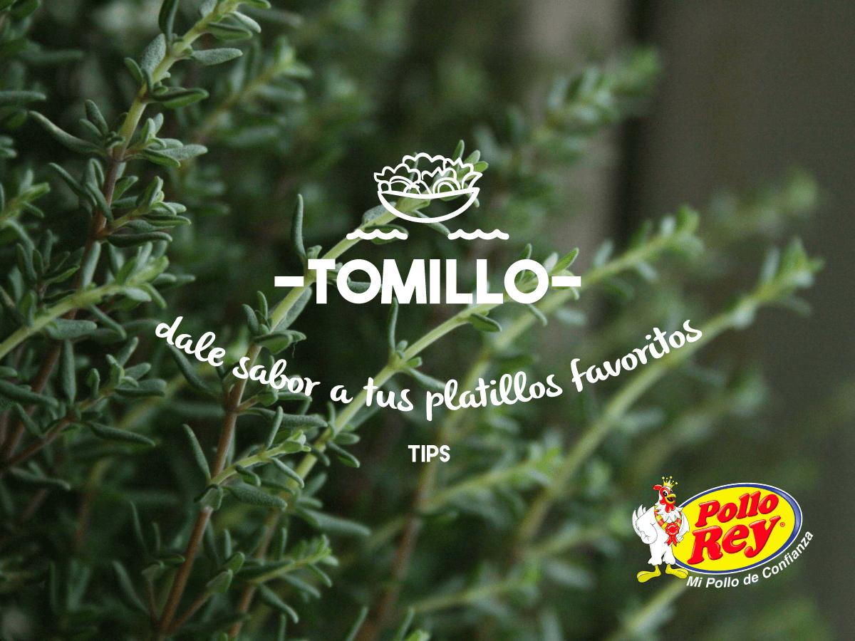 Para darle un mejor sabor a tus comidas utiliza tomillo.  Combínalo con: laurel, romero, orégano o cilantro. Queda perfecto agregándolo al pollo asado.