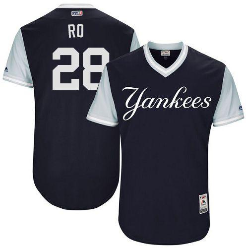 online store 7fc9b 4f144 Men's Majestic New York Yankees #28 Austin Romine | Cheap ...