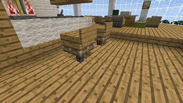 Minecraft Furniture Stools Minecraft Architecture Minecraft Furniture Minecraft