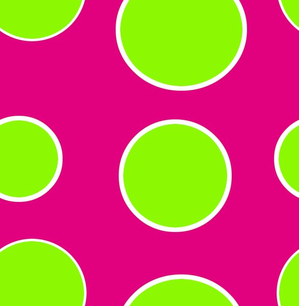 Lime Green And Hot Pink My Favorite Colors Polka Dots Wallpaper