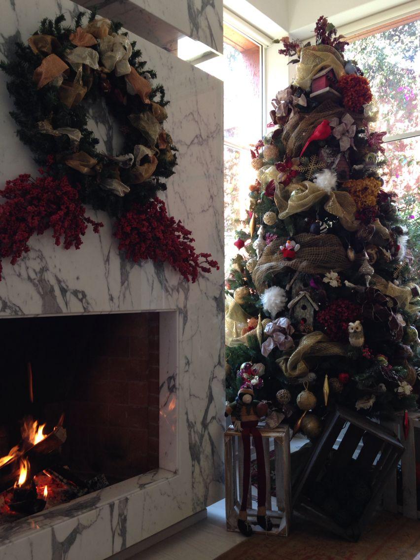 Rbol de navidad decorado con p jaros pajareras y mas - Ver arboles de navidad decorados ...