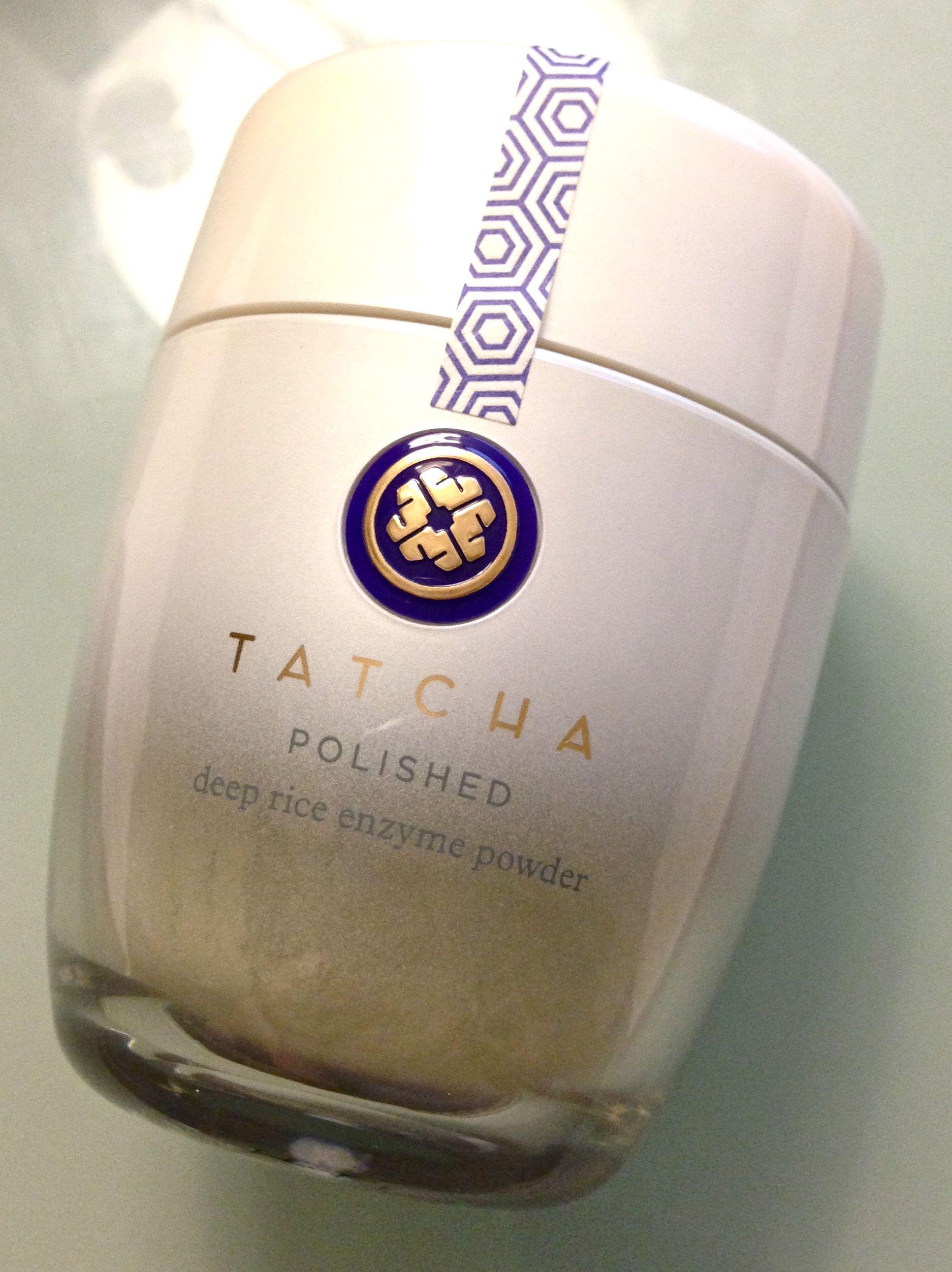 tatcha polished deep rice enzyme powder Oily combination
