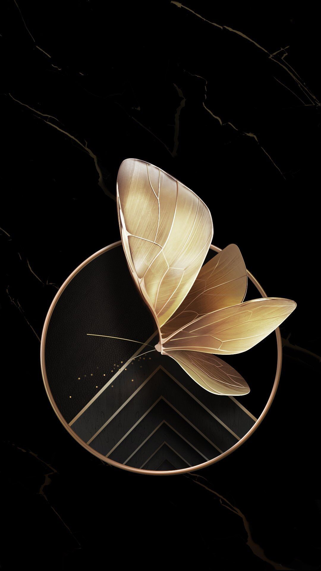 Or Et Noir Black And Gold Aesthetic Black Wallpaper Cellphone Wallpaper