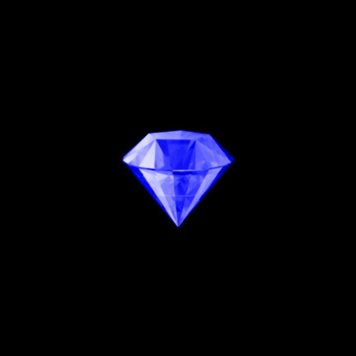 Blue Diamond Emoji Bluediamond Freetoedit Blue Diamond Emoji Cool Stuff