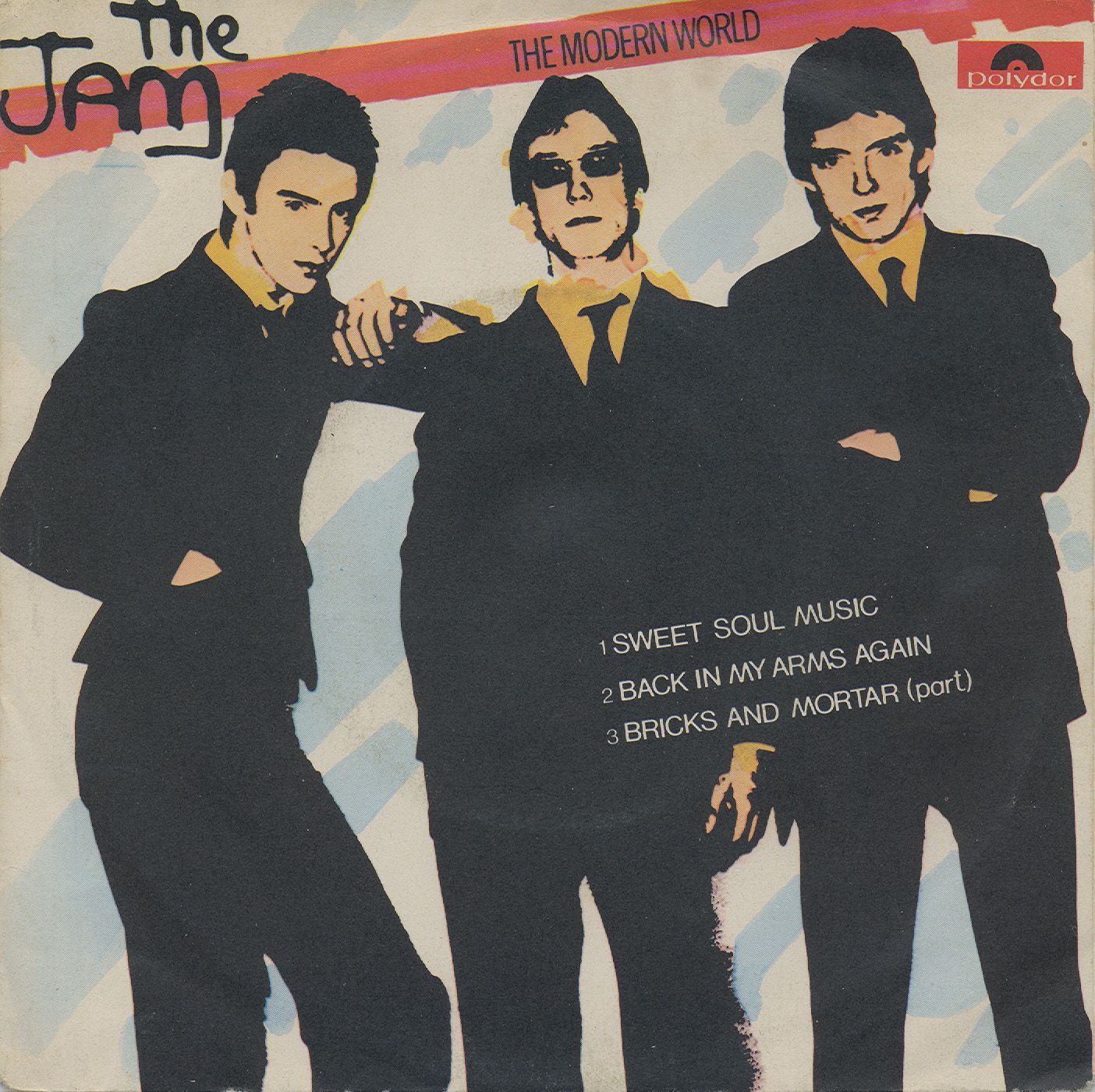"The Jam - The Modern World [1977, Polydor 2058945│Italy] - 7""/45 vinyl record"
