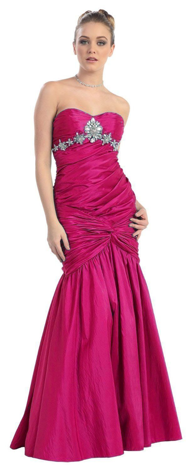 Pretty pink dress with rinestones! :) | formal dresses <3 | Pinterest