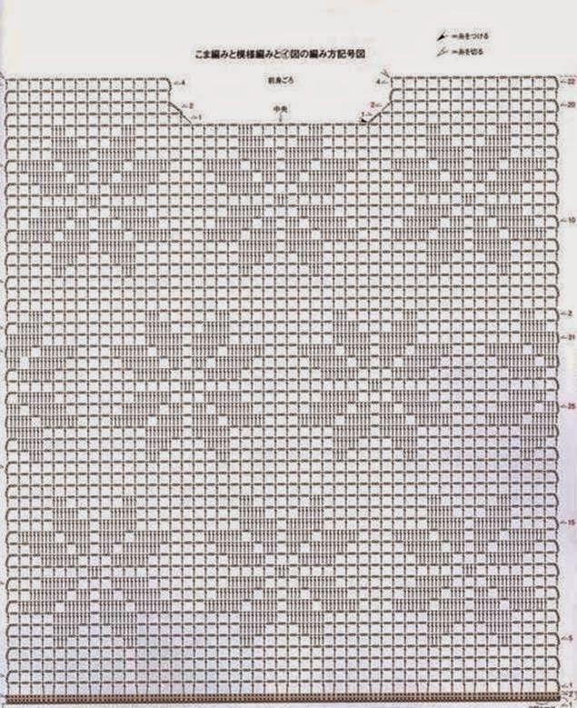 Häkelmuster Fundgrube: Filethäkelmuster
