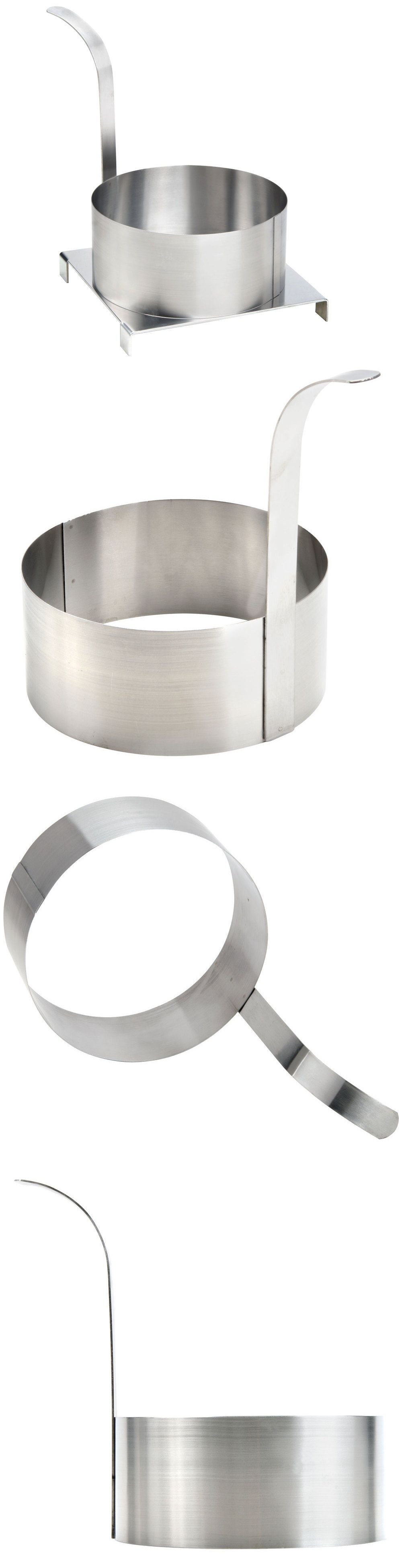 Fryers 185033 8 stainless steel round funnel cake mold