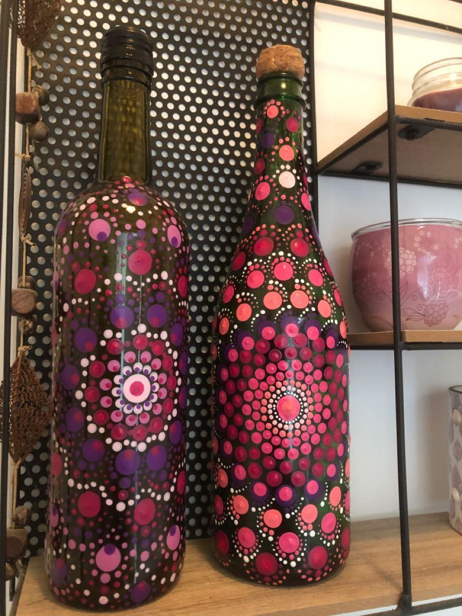 Juni 2020 Beetje Opvrolijken Die Boel Em 2020 Garrafas Decoradas Garrafas Decorativas Decoracao Da Casa Artesanal