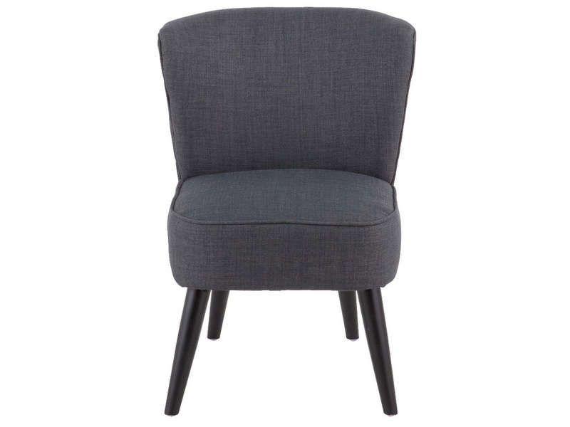 Fauteuil 52x70x57 cm james vente de fauteuil conforama for Fauteuil salon conforama
