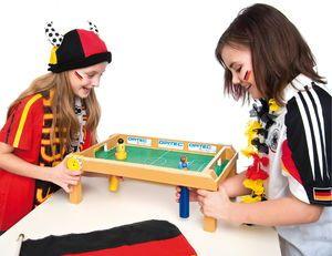 Football de table magnétique, la pièce