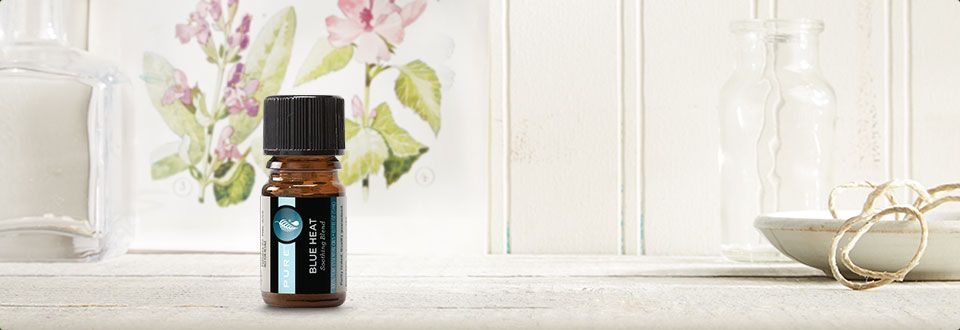 New PURE™ Blue Heat Soothing Essential Oil Blend - PURE ...