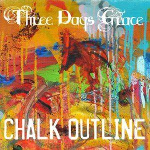 Chalk outline three days grace.