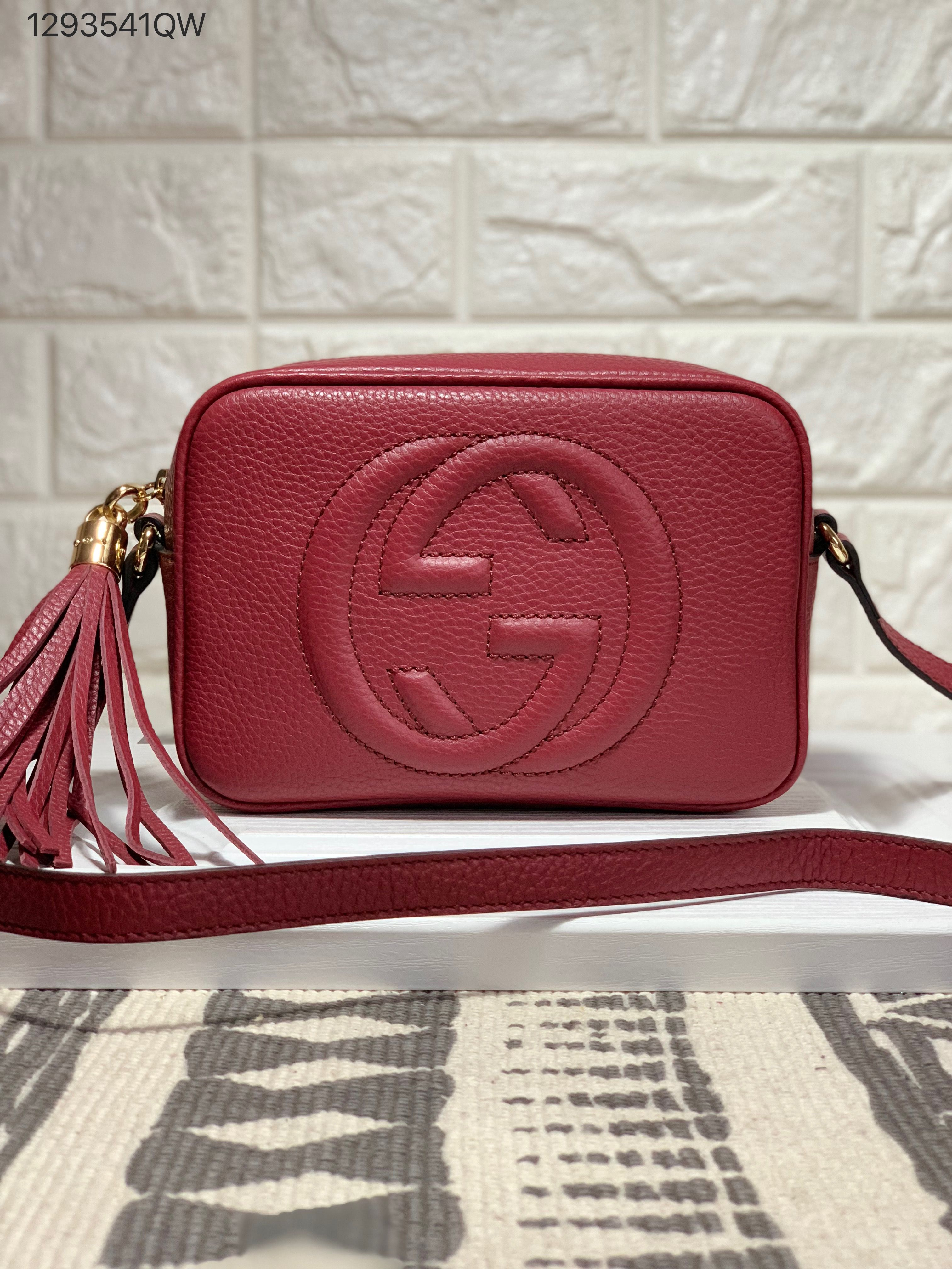 6f72403a4e09 Gucci soho disco cross body camera bag burgundy | Gucci bags | Gucci ...