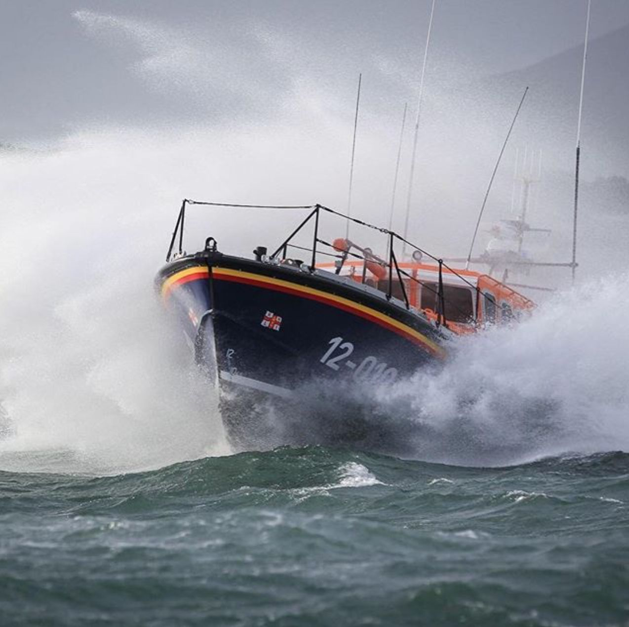 Boats in rough water & misc. image by Terry Perdew Pilot