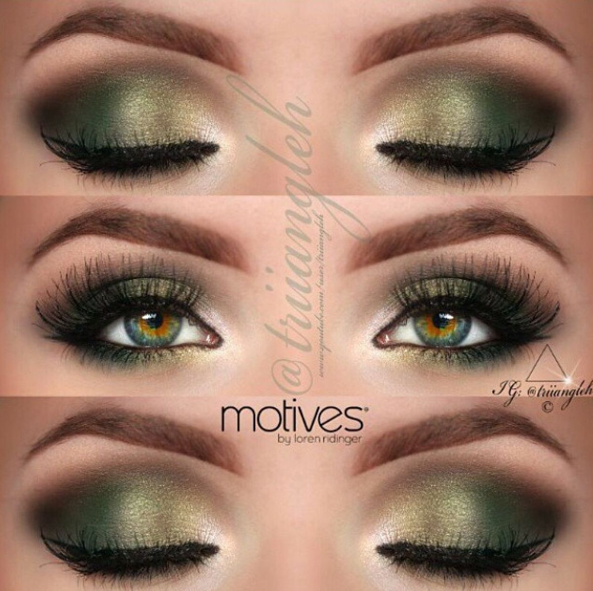 8c1607ebb14604dfa8d5096a442c99a3g 12001195 pixels makeup top 10 simple smokey eye makeup tutorials for green eyes i obviously dont have green eyes but im totes obsessed with green eye shadow baditri Images