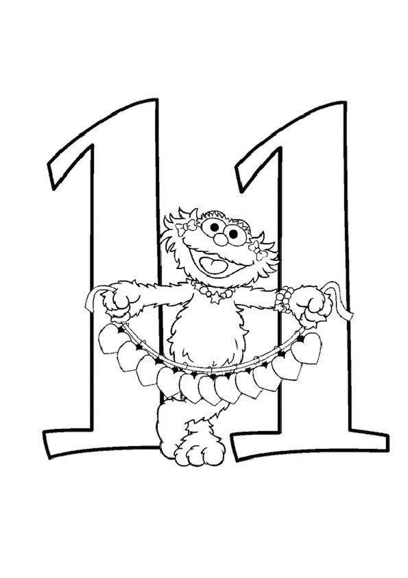Click Share This Story On Facebook Sesame Street Coloring Pages Coloring Pages Free Printable Numbers