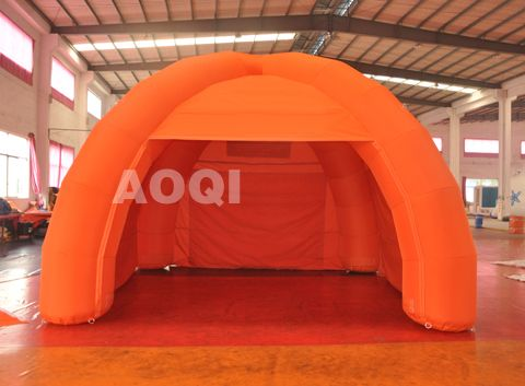 Inflatable Orange tent ,Air Dome, Inflatable Tents