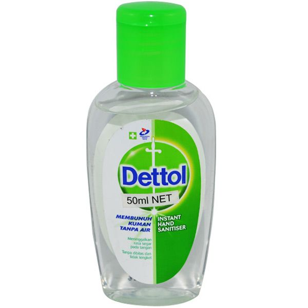 Dettol Hand Sanitiser 50ml Hand Sanitizer Handbags Essentials