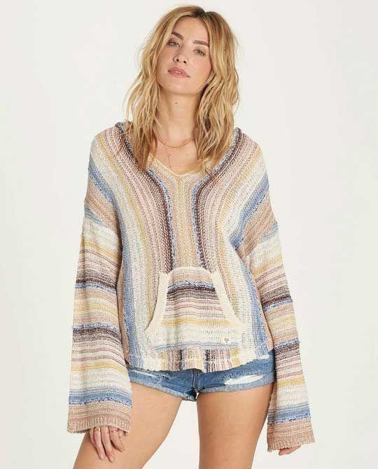 e6be15a20f Billabong Baja Beach Sweater for Women in Multicolor JV03MBAJ | wish ...