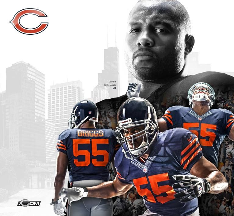 Lance Briggs former Chicago Bears LB. Current CSN Chicago