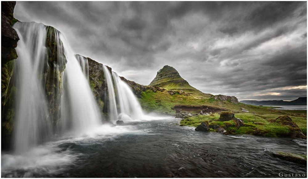Photo Raining at Kirkjufell by Gustavo Rodriguez on 500px
