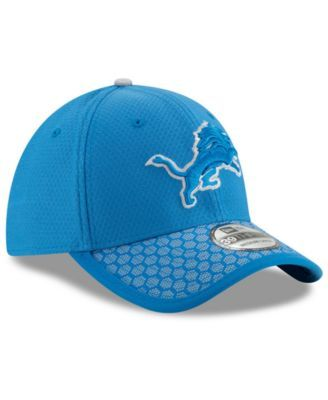 pretty nice a4c2f 3f286 New Era Boys  Detroit Lions 2017 Official Sideline 39THIRTY Cap - Blue  Toddler