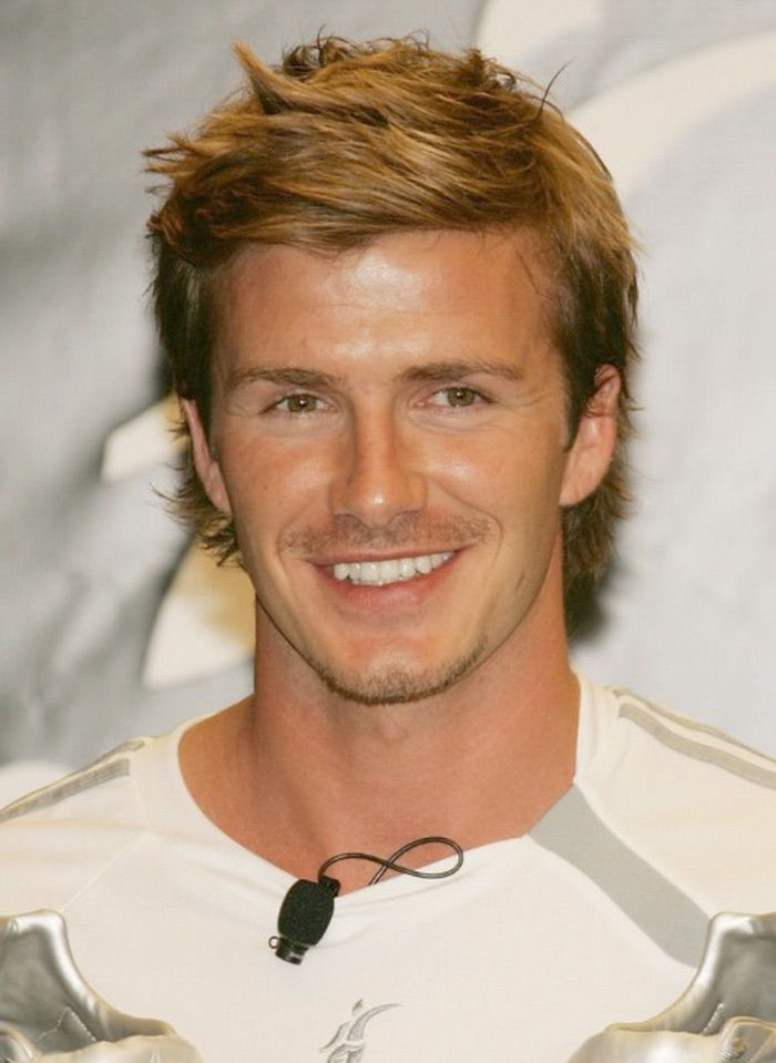 Awesome David Beckham Hair