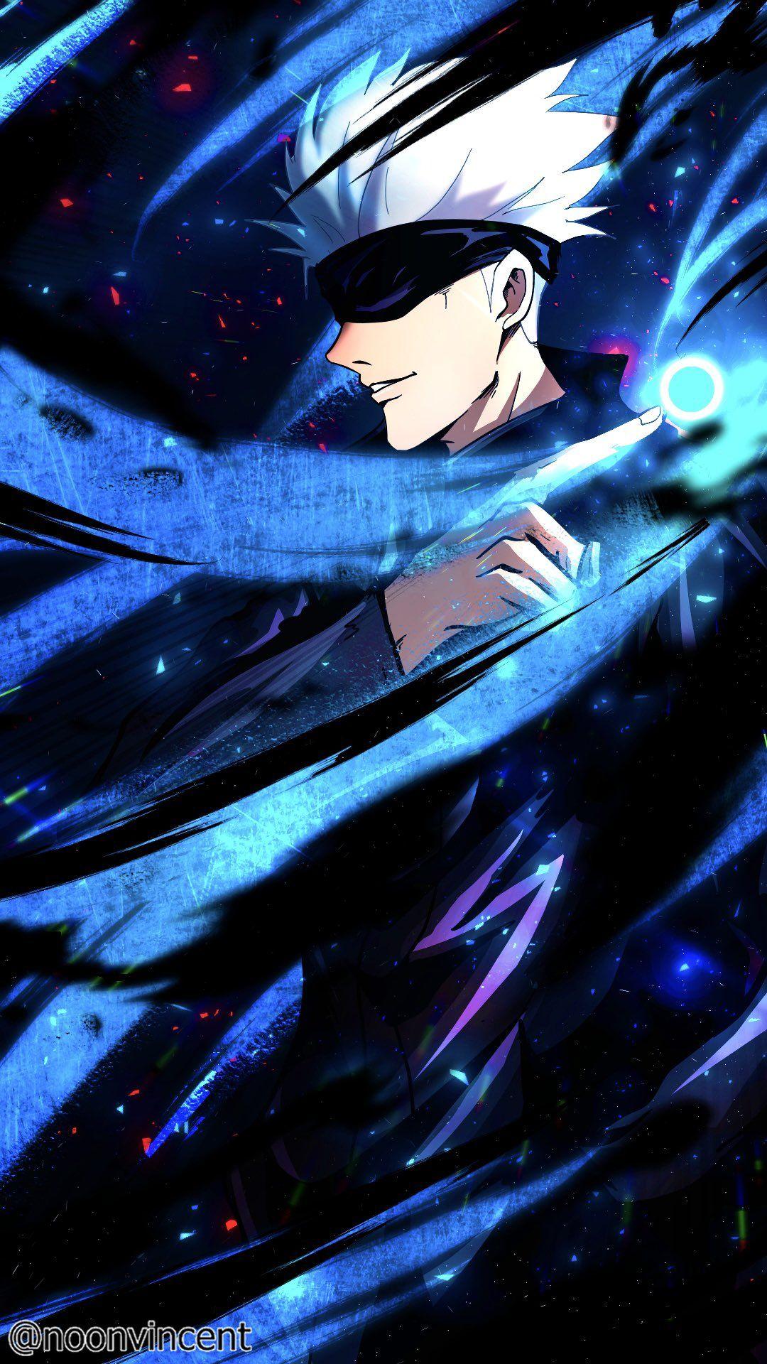 Jujutsu Kaisen Satoru Gojo By Noonvincent Personagens De Anime Animes Wallpapers Filmes De Anime