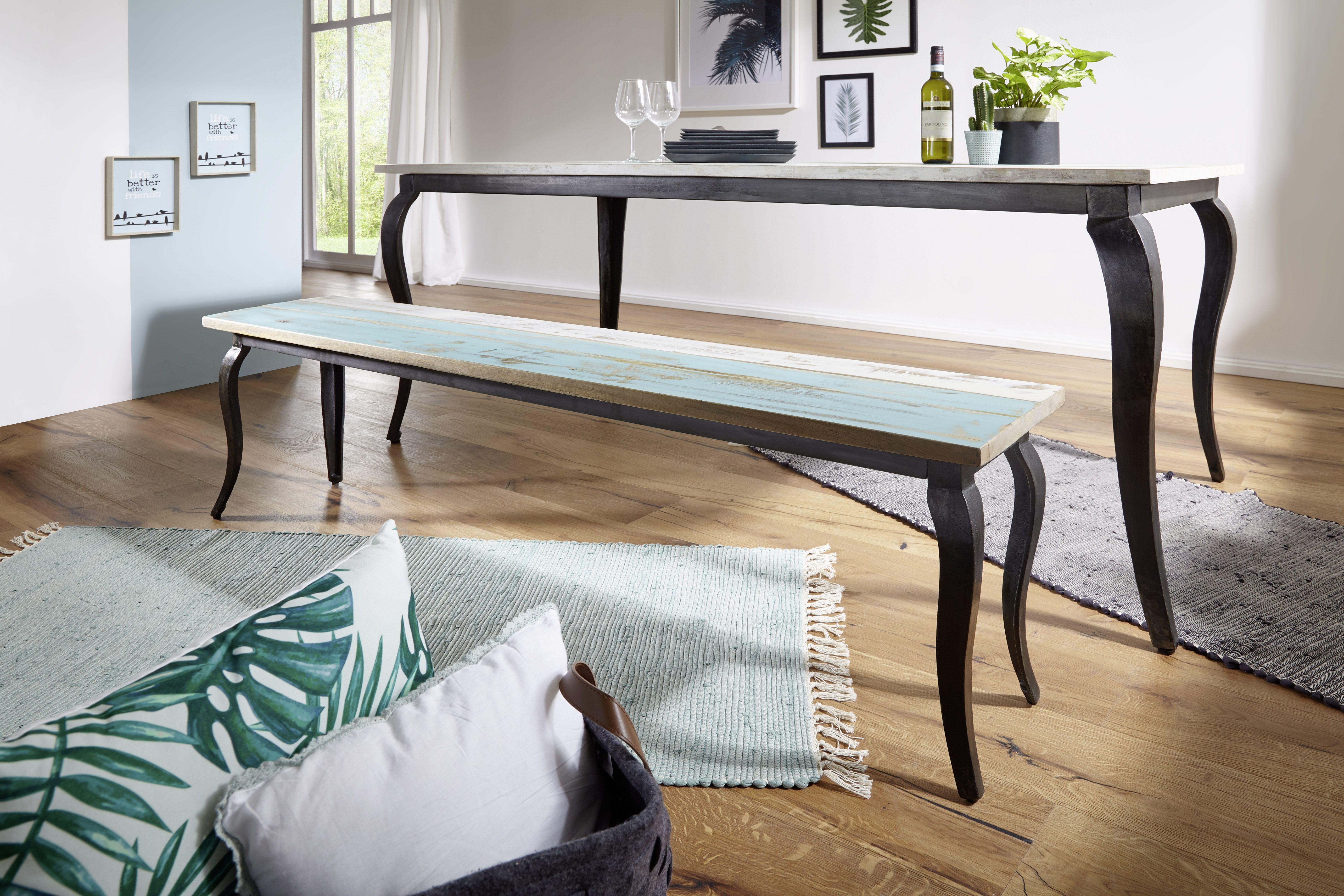 Esszimmer mit küche wohnling esszimmerbank lina wl aus massivholz esszimmer küche