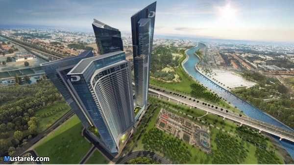 للبيع شقة ستديو تملك حر مساحة 40 متر علي شارع الشيخ زايد والقناة المائية بارقى مشاريع دبي العالمية اطلالة ساحرة احج Dubai Real Estate Dubai Apartments In Dubai