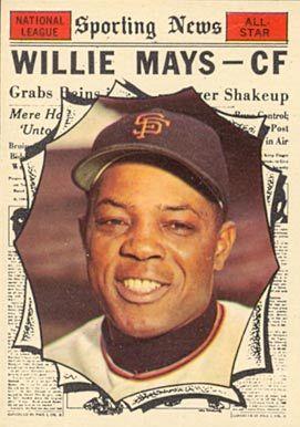 1961 Topps Willie Mays 579 Baseball Card Value Price Guide Willie Mays Baseball Cards Famous Baseball Players
