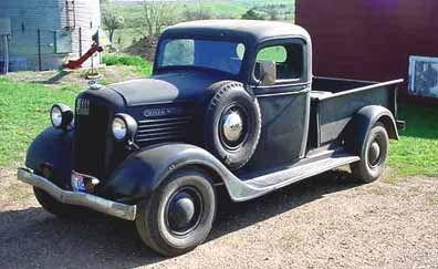 Clic Trucks For Daniel Ruppelt S 1936 Gmc T 14 1 2 Ton Restoring An Old Truck
