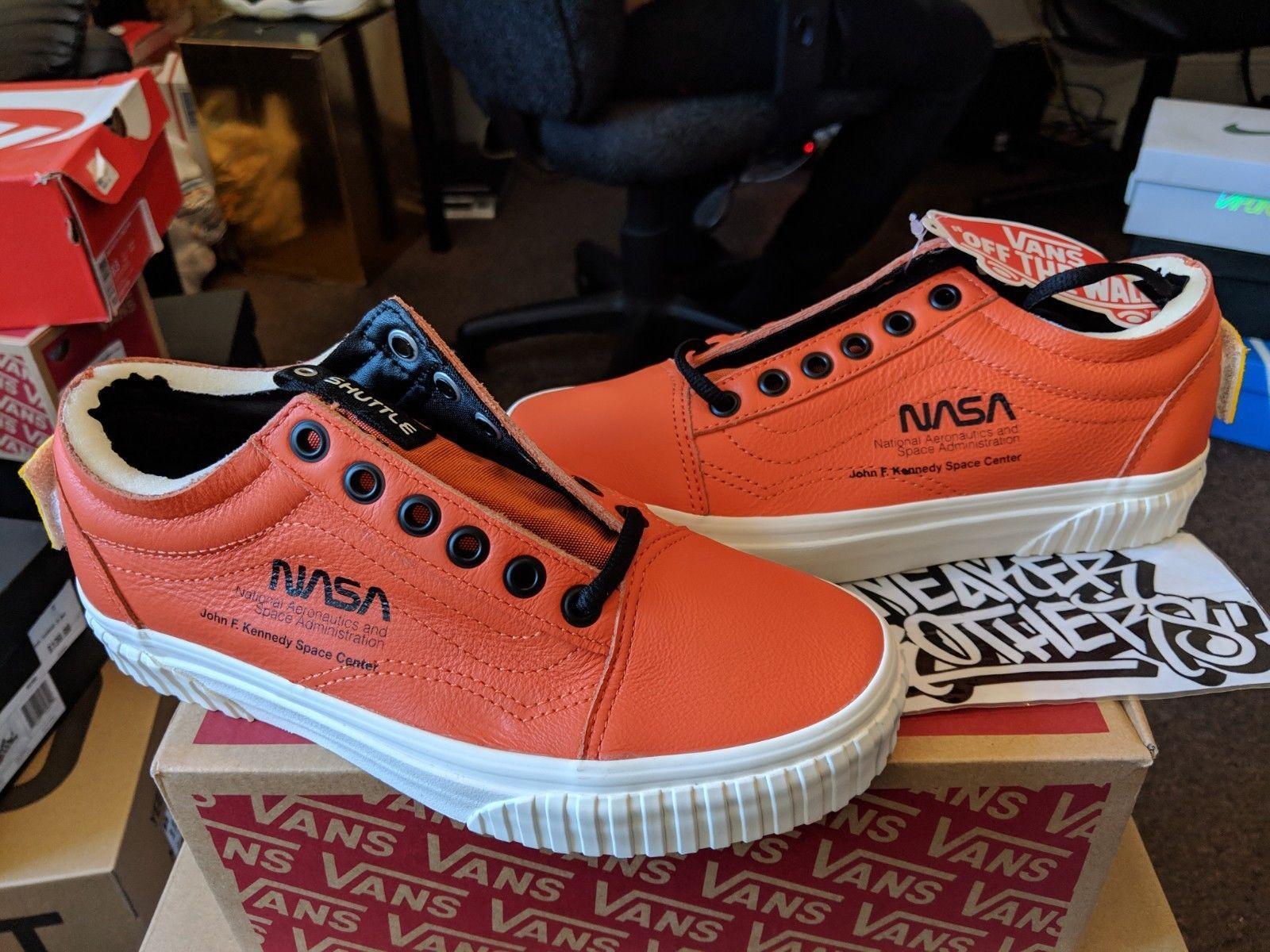ade977c05096 Vans Old Skool x NASA Space Voyager Firecracker Orange Red VN0A38G1UPA   NasaVans  Nasa  Vans  Clothing  Shoes  Trending  Hot  Shop  Trend  Popular   Sneakers ...