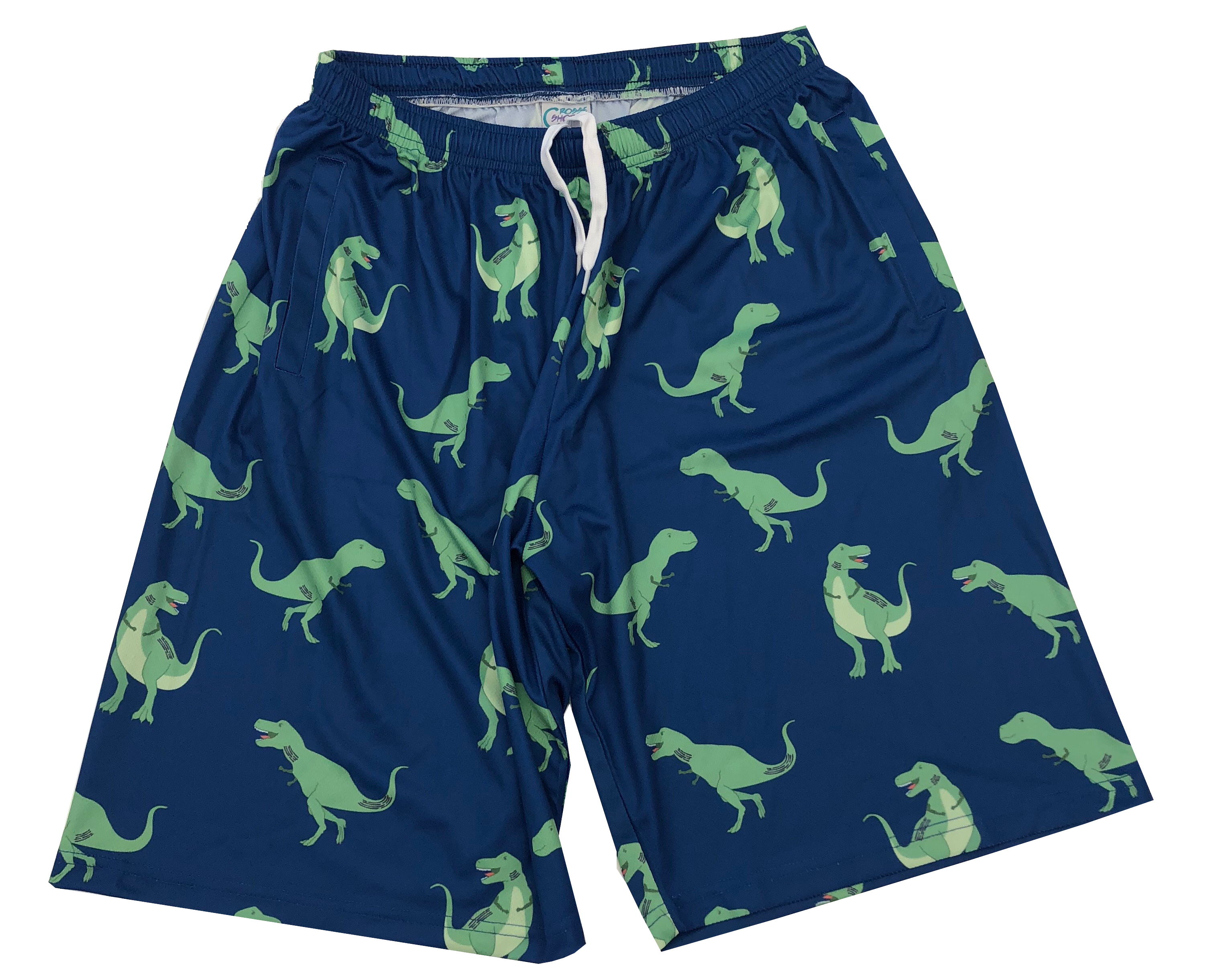 37c6bfb08e613 Cool Lacrosse Shorts for Youth and Men. Check Out Our Dinosaur Pattern  Shorts.