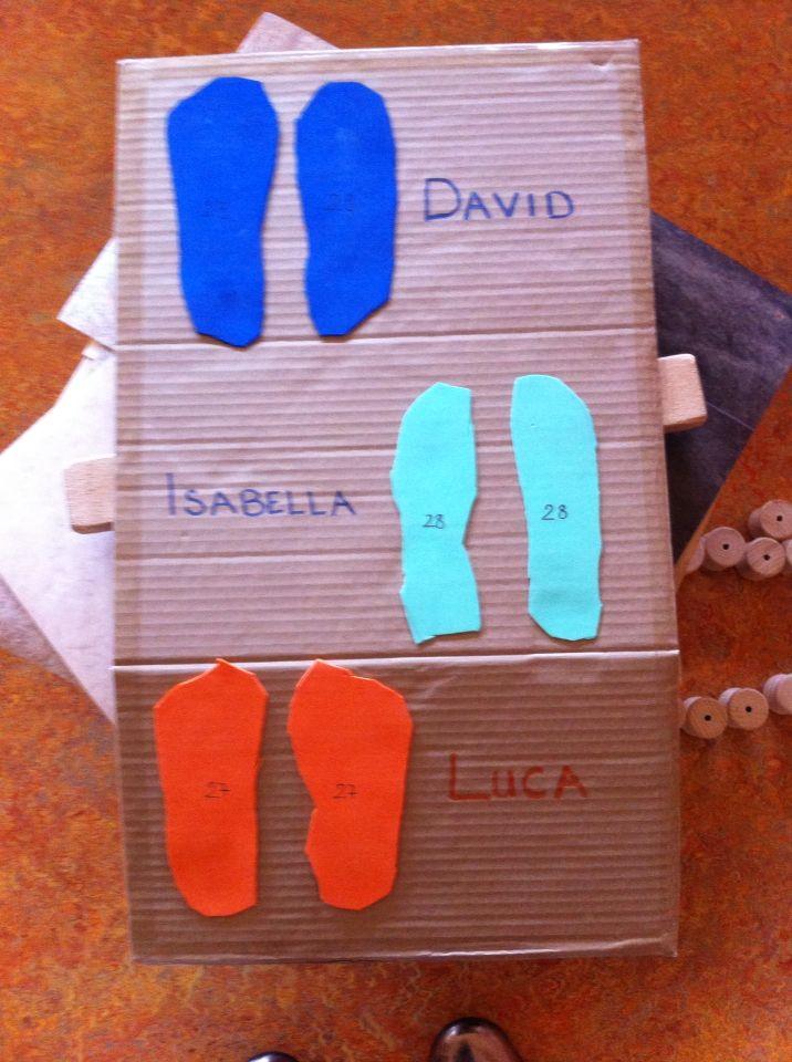Füße messen | Kindergarten | Pinterest | Kita, Mathematik und Kinder ...