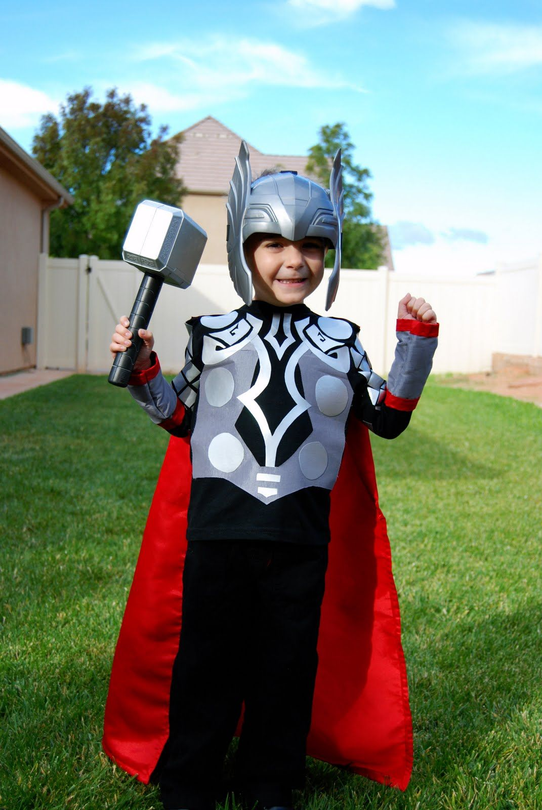 The Mighty Thor Diy Costume For Kids Easy To Make Diy