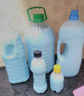 Lava Roupas Caseiro Economico Receita Receita Sabao Liquido