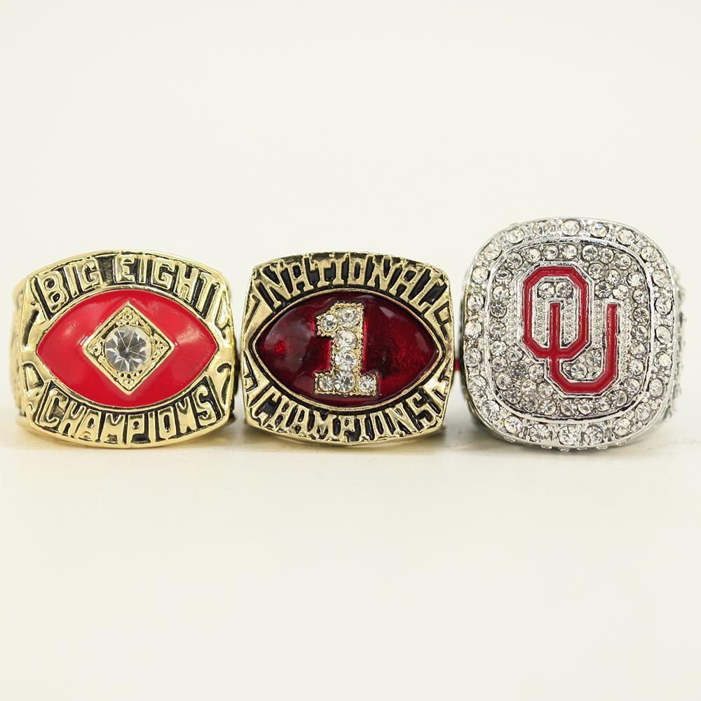3 piece oklahoma sooners national college football