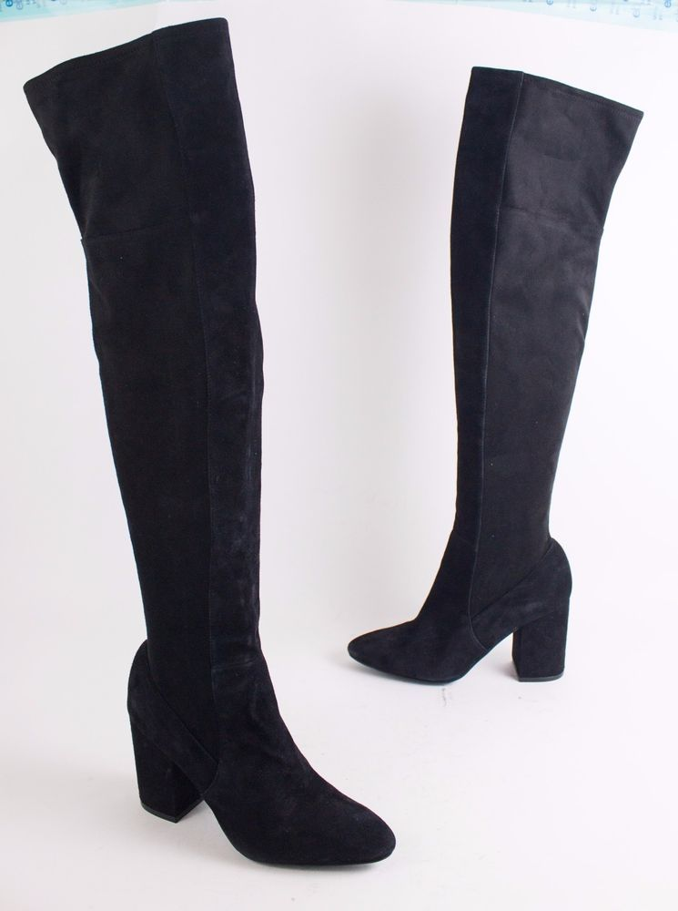 47c3e2beab3 Cole Haan Darla Black Suede Over The Knee OTK Women s Boots US 6  fashion   clothing  shoes  accessories  womensshoes  boots (ebay link)