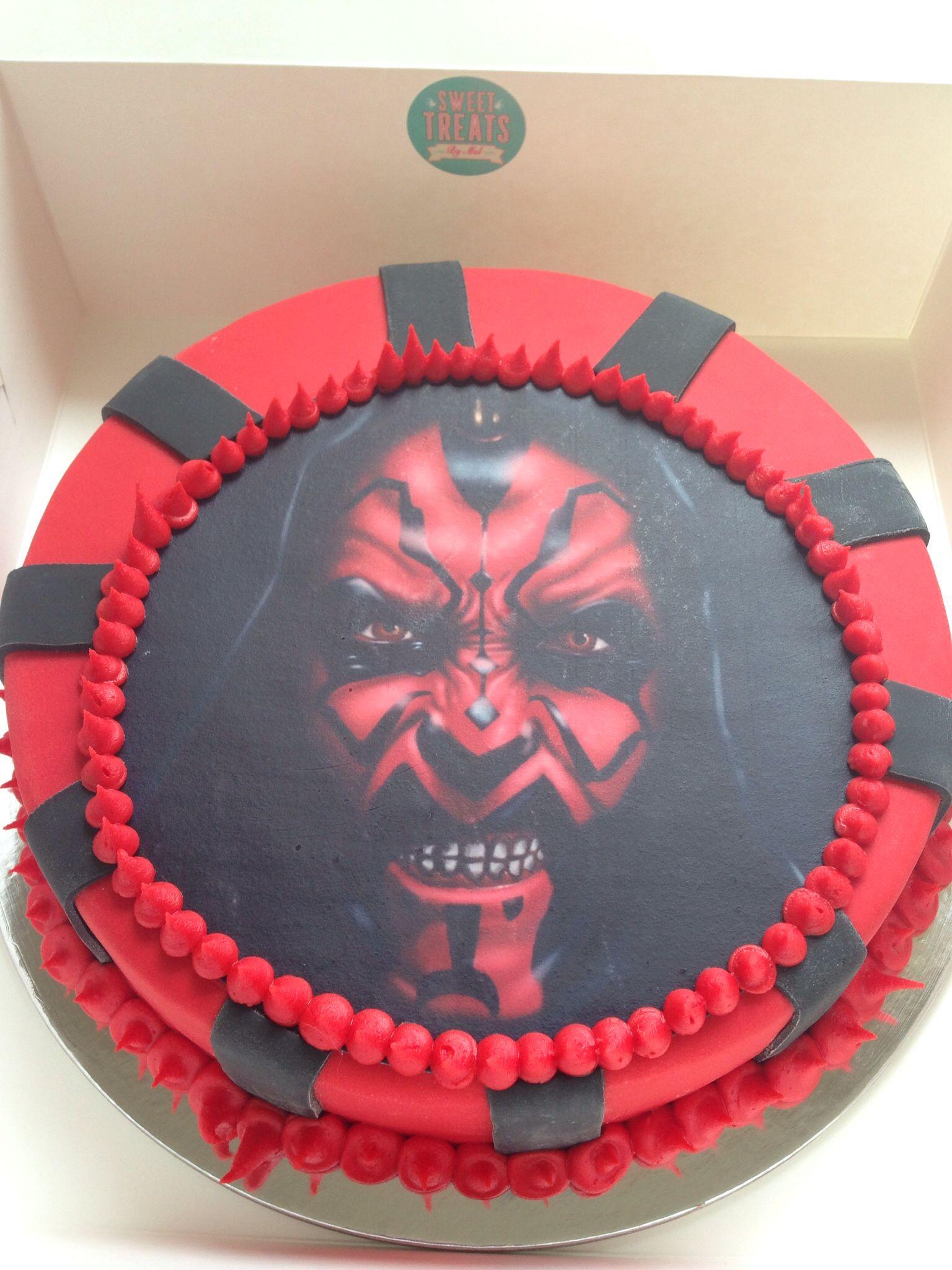 Darth Maul Birthday Cake Cakes Pinterest Darth Maul Birthday